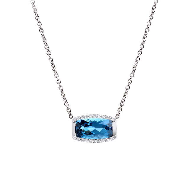 Swoonery-Tonneau Necklace