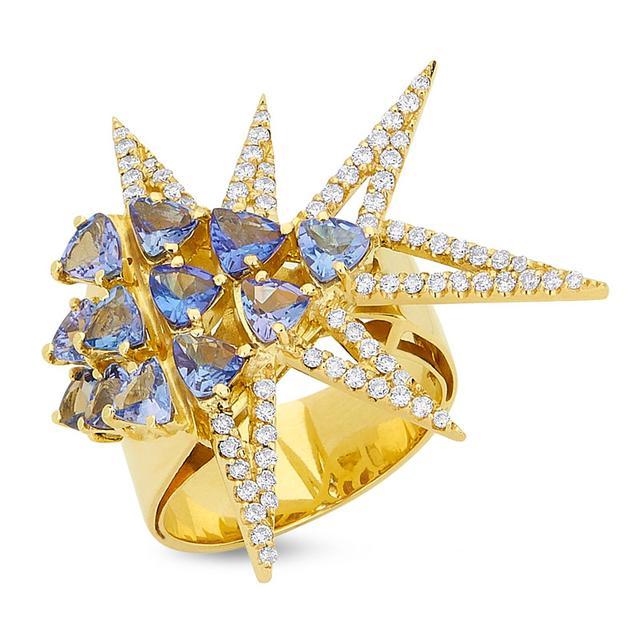 Swoonery-Shine Ring - Tanzanite