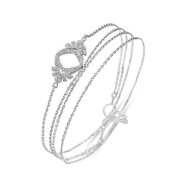 Swoonery-Twist Plume Bracelet