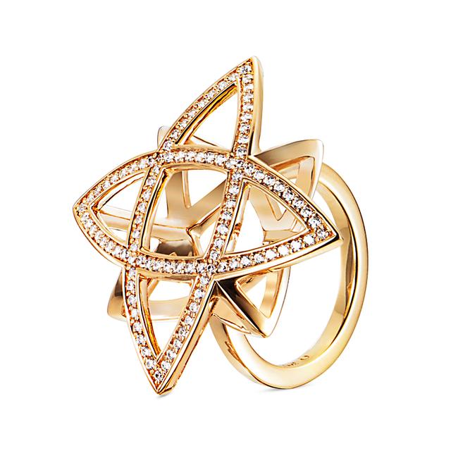 Swoonery-P+ & Stars Ring