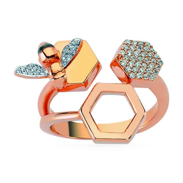 Swoonery-Queen Bee Ring