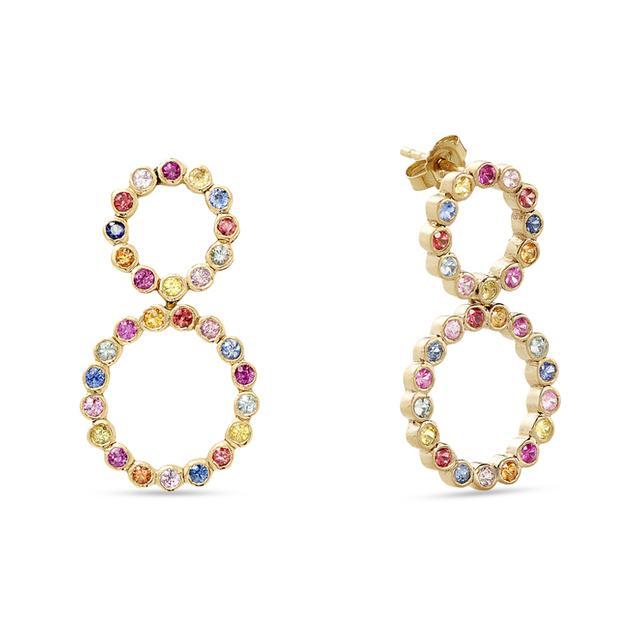 Swoonery-Door Knocker Earrings