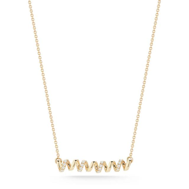 Swoonery-Carly Brooke Yellow Gold Necklace