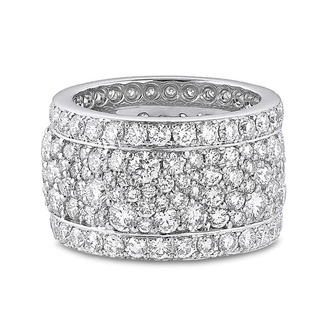 Swoonery-Legends Of Africa Ring In All Diamonds