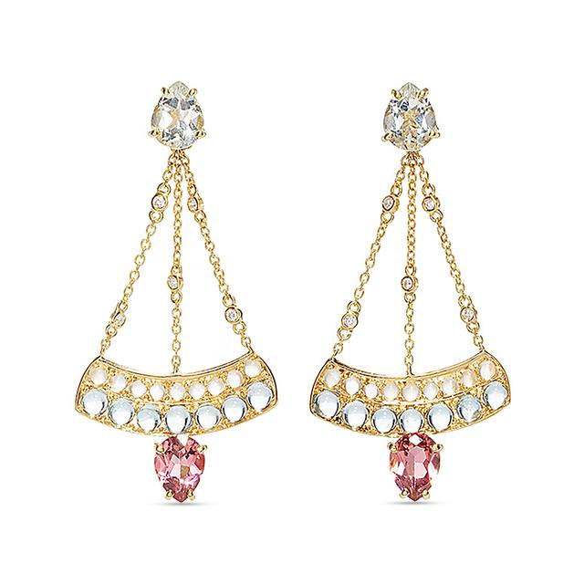 Swoonery-Sophia Chandelier Earrings