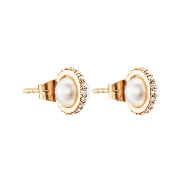 Swoonery-Little Day Pearl & Stars Earrings
