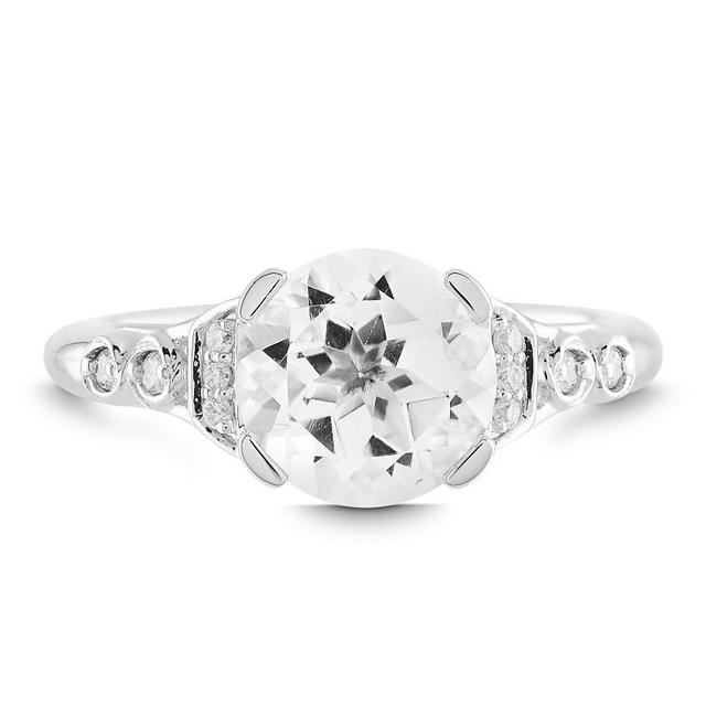 Swoonery-Rosebud Vintage Inspired Solitaire