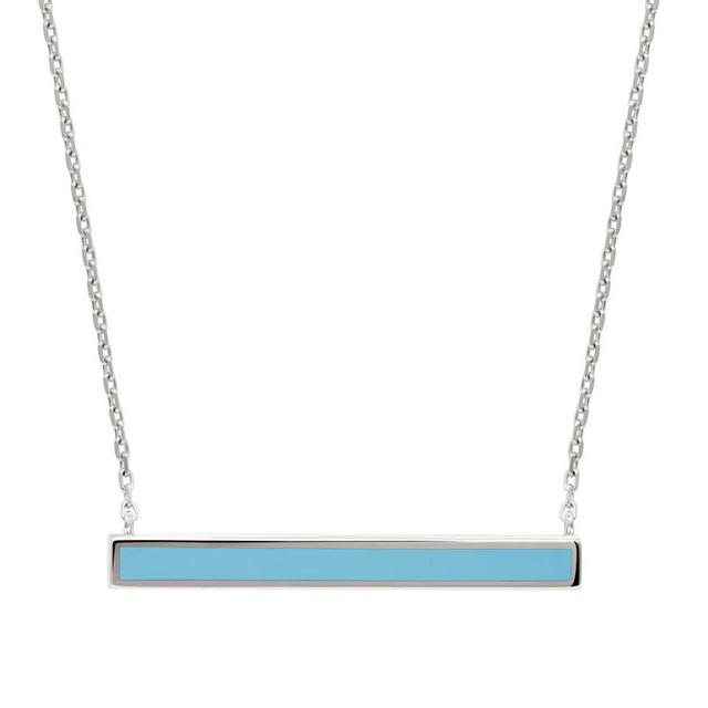 Swoonery-Turquoise enamel color bar