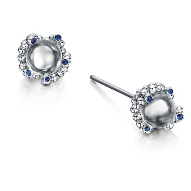 Swoonery-Coalescence Diamond Pure Earring