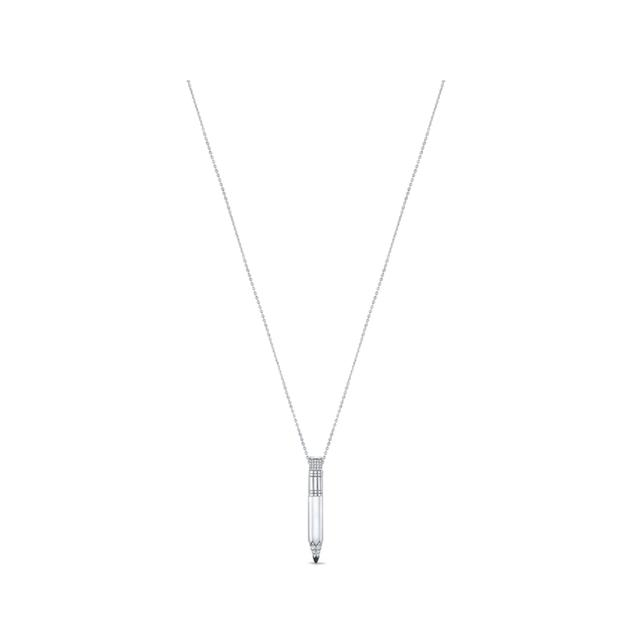 Swoonery-Small Drop Pencil Expression Necklace