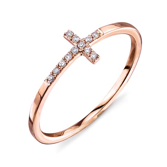 Swoonery-Bent Cross Ring