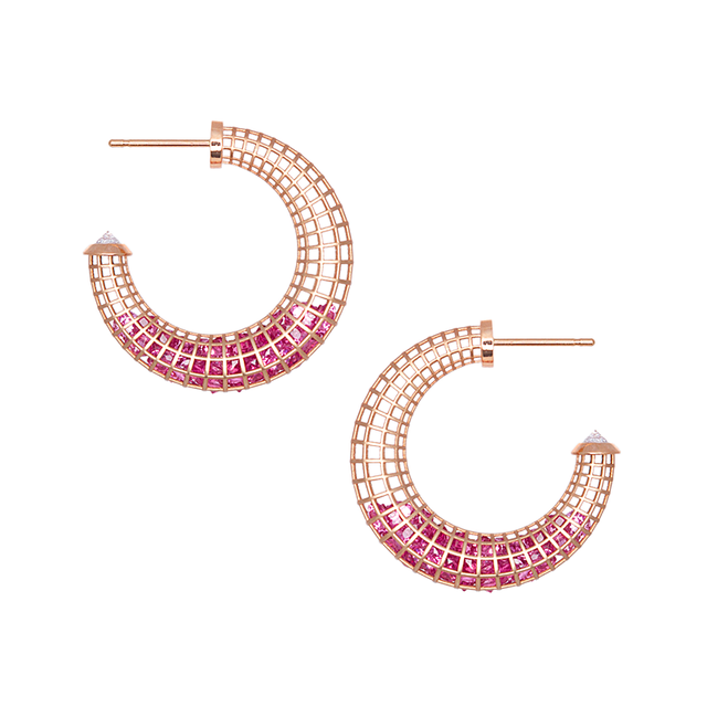Swoonery-Shaker Mini Crescent Hoop Earrings