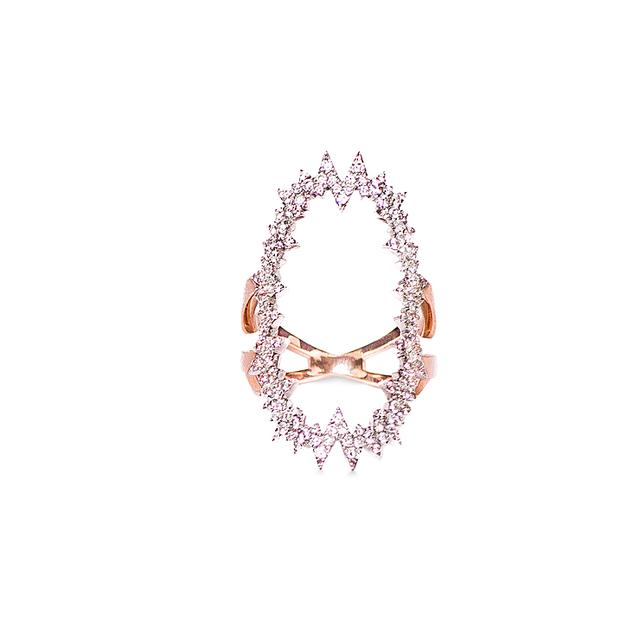 Swoonery-Atomic Pop Art Ring