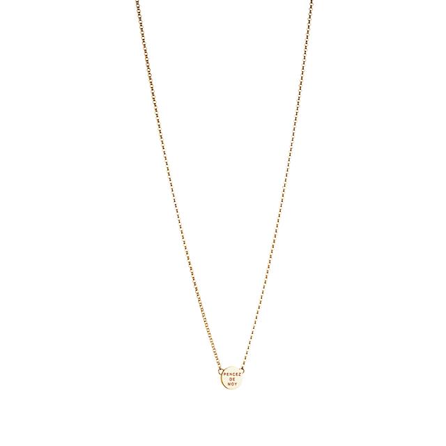 Swoonery-Mini Pencez de Moy Necklace