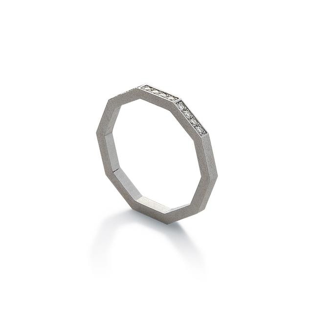 Swoonery-DECAGON RING