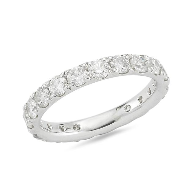Swoonery-Shared Prong Eternity Band