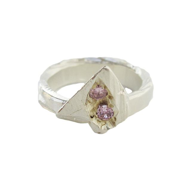 Swoonery-Pink Bloom Ring