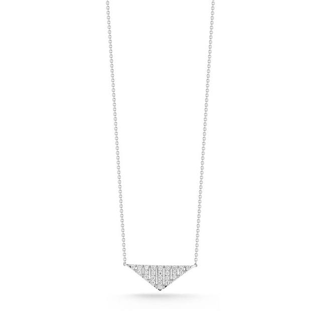 Swoonery-Jeb White Gold Necklace