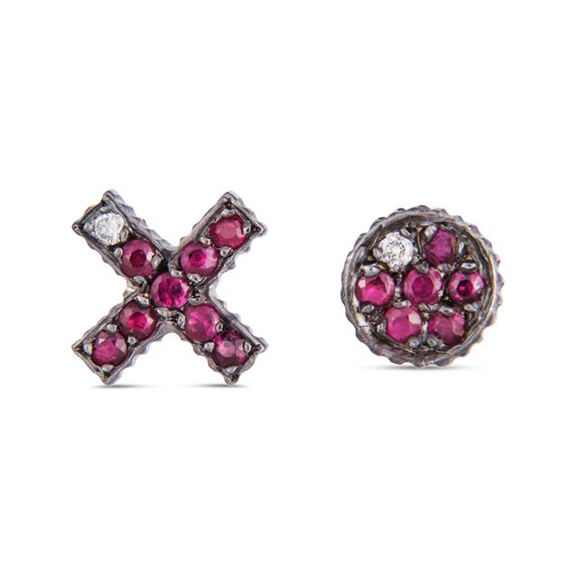 Swoonery-Yossi Harari Lilah Xo Stud Earrings