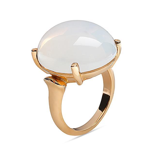 RockNRoll Collection Moon Quartz Ring Swoonery Shop Designer