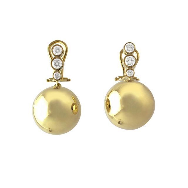 Swoonery-Cyclos Brown Diamond Earrings