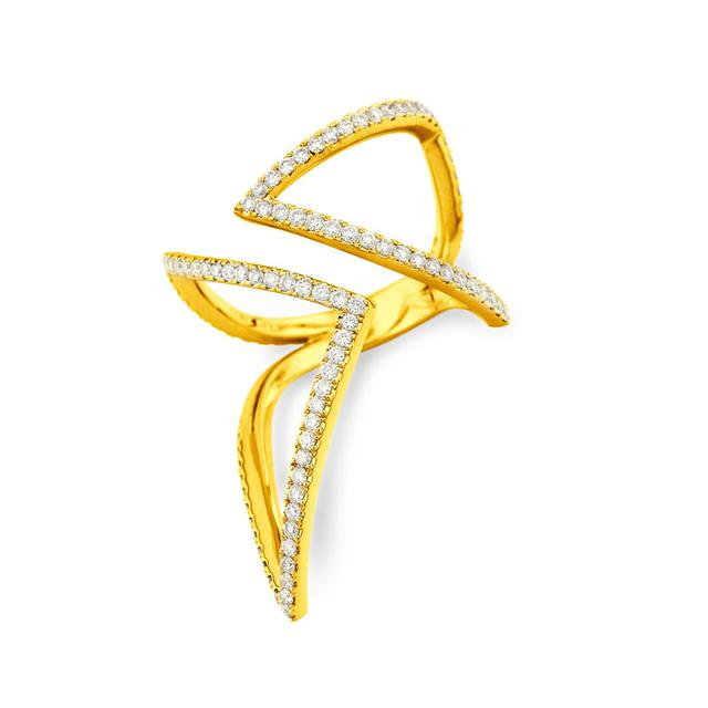 Swoonery-Dahlia Ring