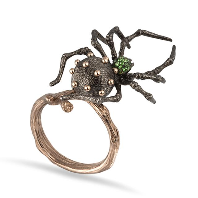 Swoonery-Spider Ring