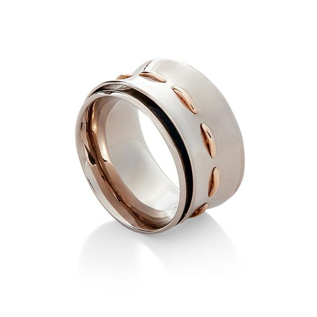 Swoonery-INSEPARABLE DOUBLE RING