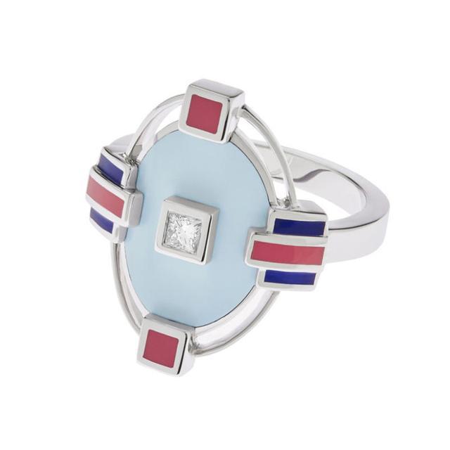 Swoonery-Azure ring