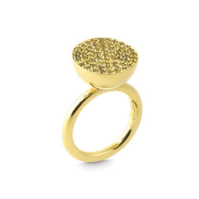 Swoonery-Cyclos Yellow Diamond Ring