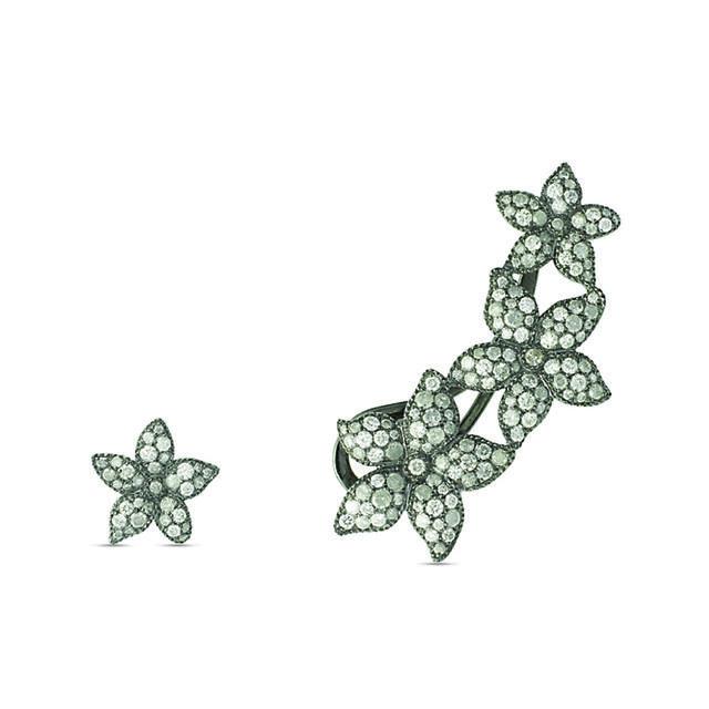 Swoonery-Climbing Flowers Ear Cuff