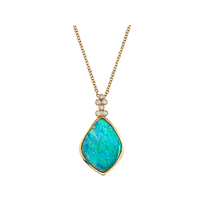 Swoonery-Classic Opal Pendant
