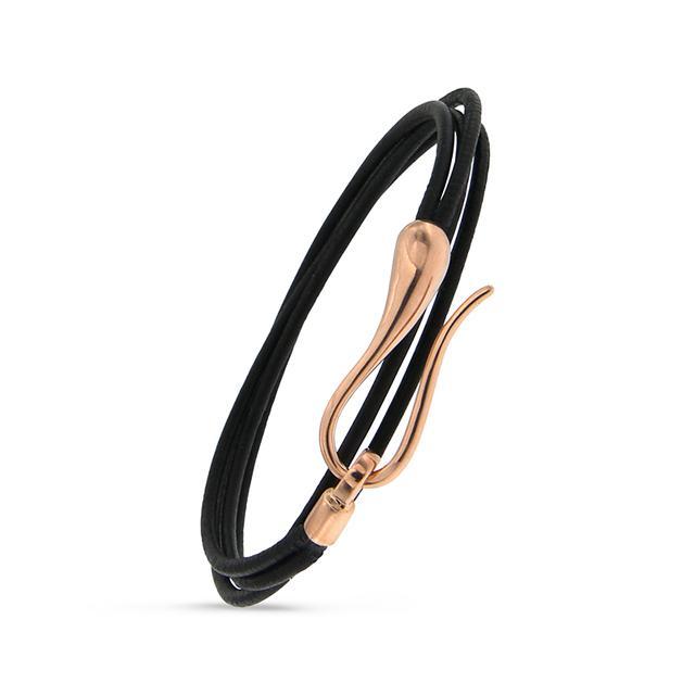 Swoonery-Rose Gold Elika Small Bracelet