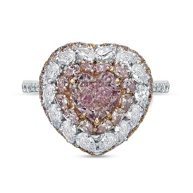 Swoonery-Eternal Love Heart Ring