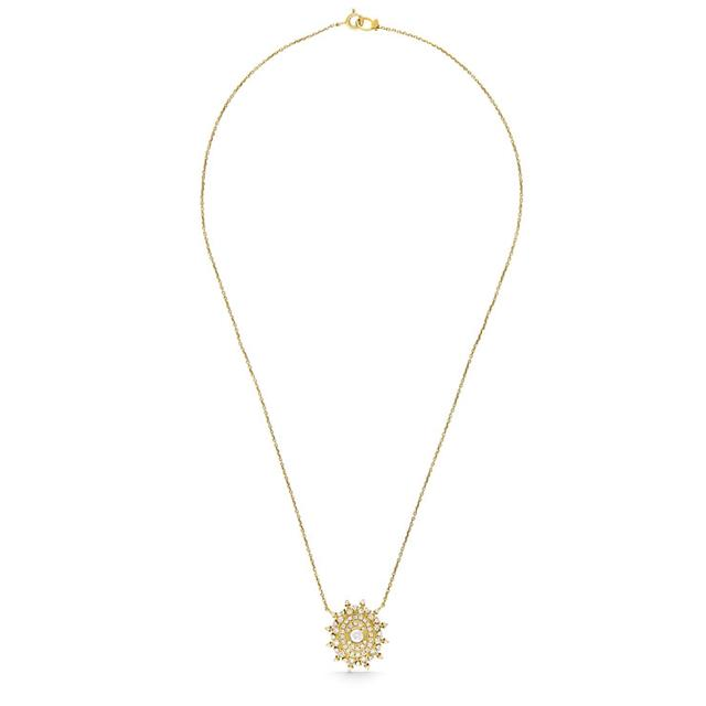 Swoonery-GOLD CROWN NECKLACE