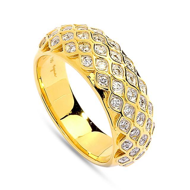 Swoonery-Diamond Mogul Ring