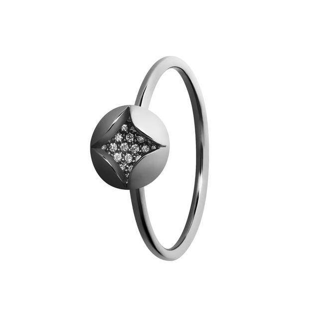 Swoonery-Diamond Amanda Ring
