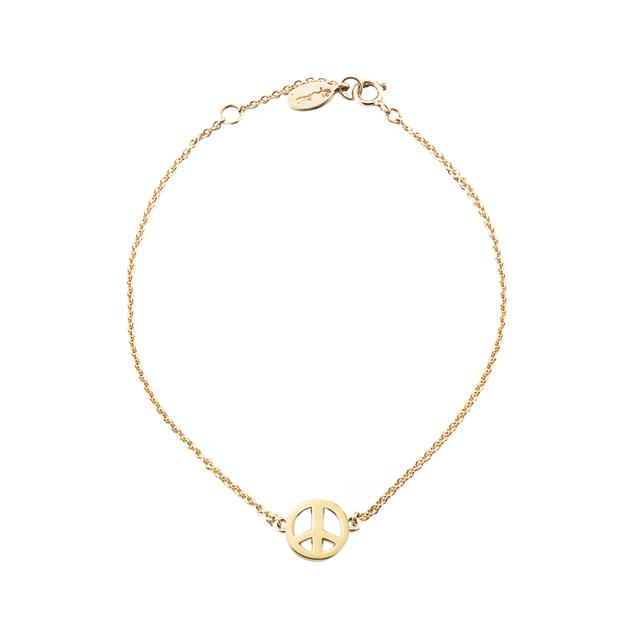 Swoonery-Mini Peace Bracelet