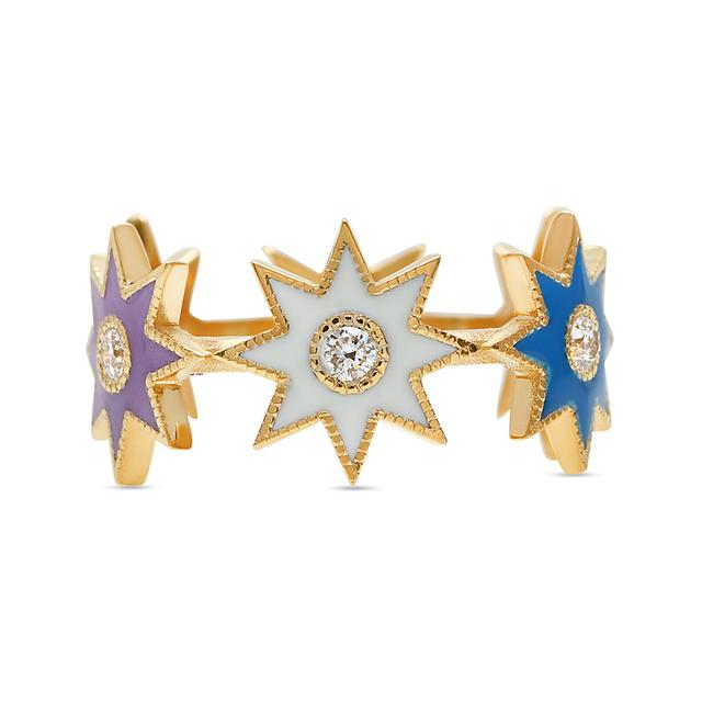 Swoonery-Celestial Twinkle Star Ring