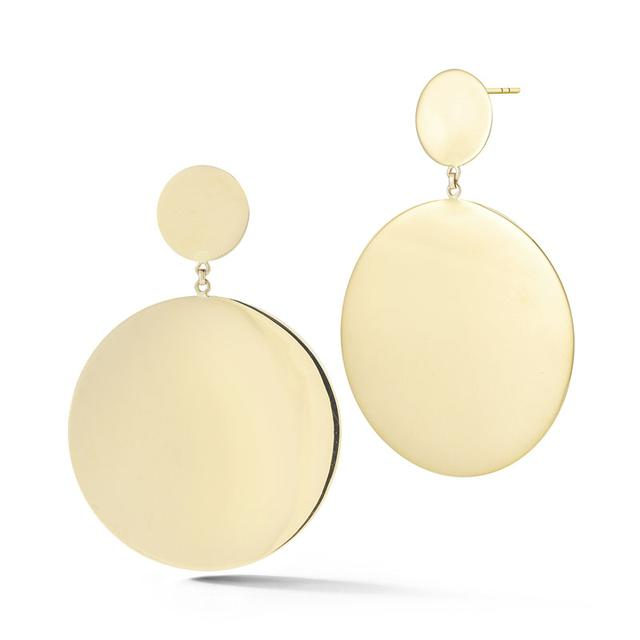 Swoonery-Mega Disk Statement Earring