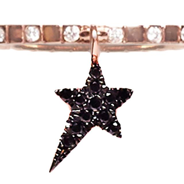 Swoonery-Charm ring, star charm