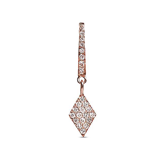Swoonery-Diamond Shape Charm Earring