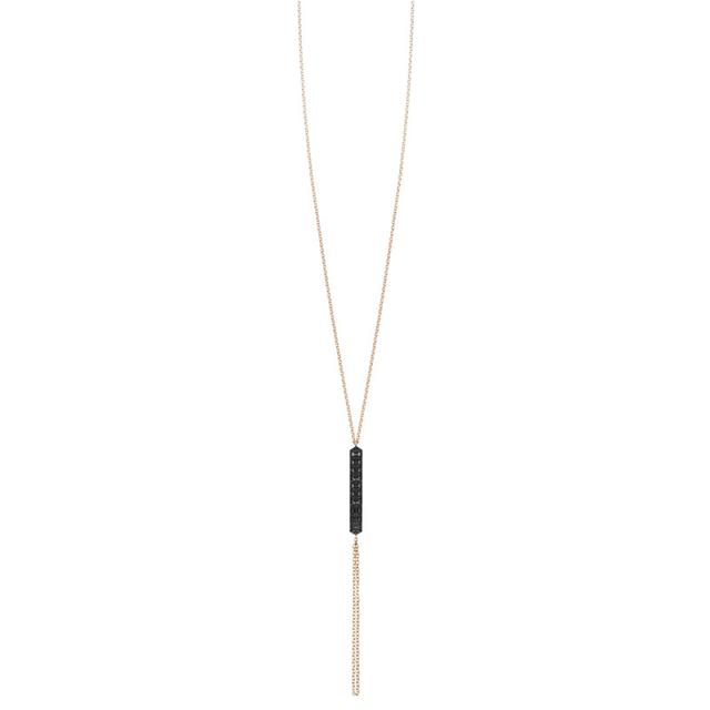 Swoonery-Black Diamond Valli Lariat