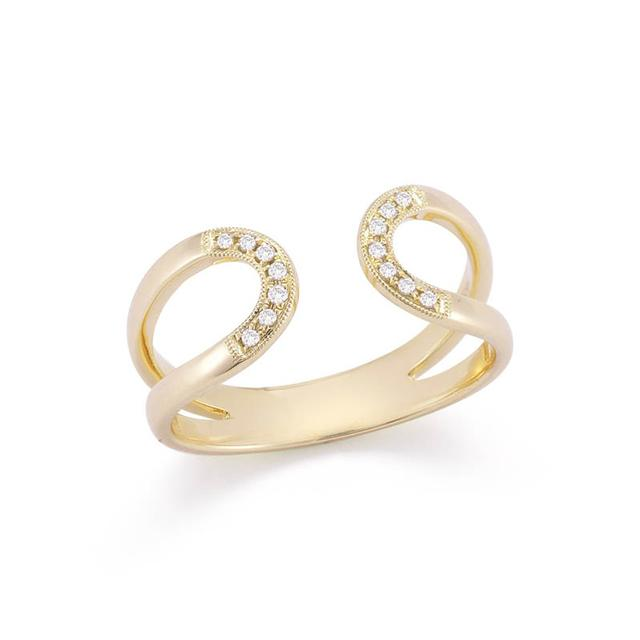 Swoonery-Isabelle Brooke Yellow Gold Ring