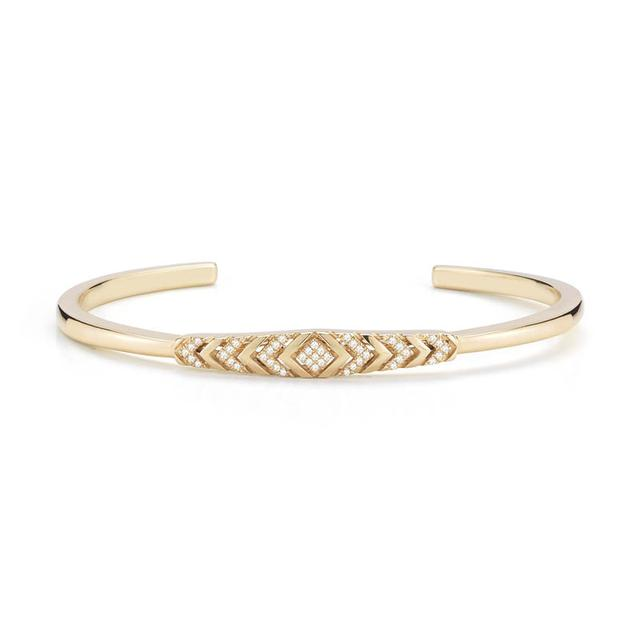 Swoonery-Reese Brooklyn Yellow Gold Bangle