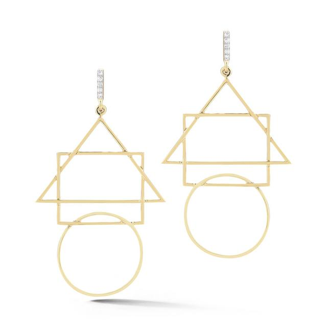 Swoonery-Geometric Shape Earring