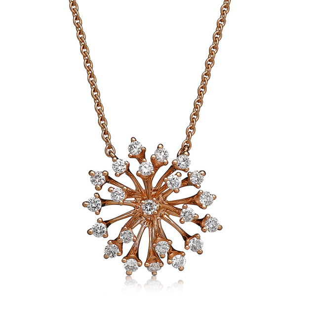 Swoonery-Rose Gold Luminus Necklace