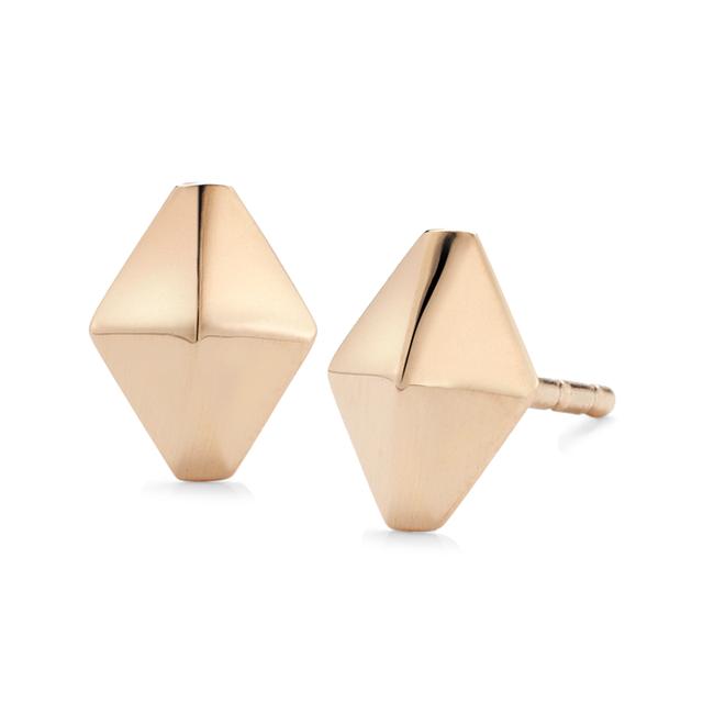 Swoonery-Sydney Origami Stud Earrings