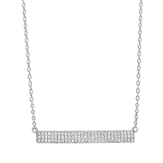 Swoonery-Jumbo Bar Necklace