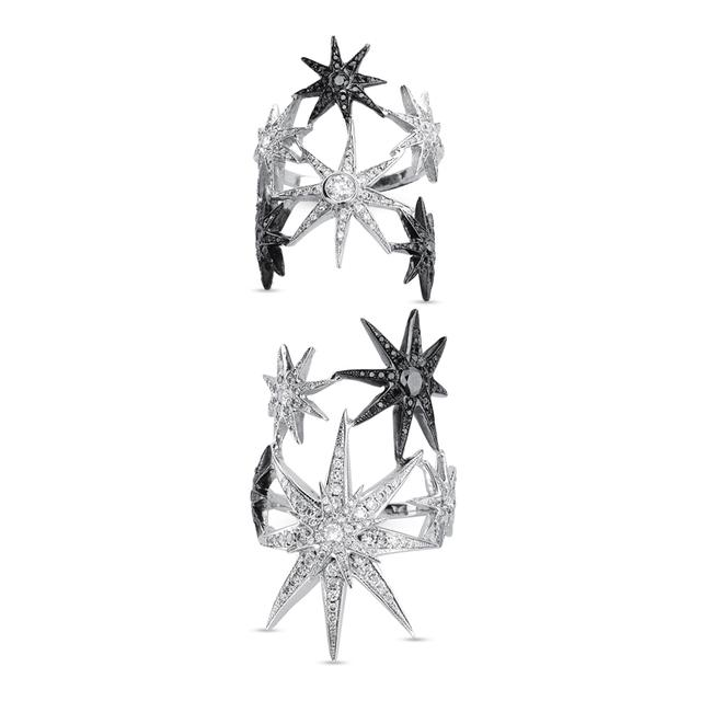 Swoonery-Two-Piece Stars Ring